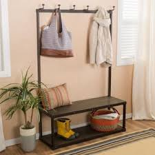 Entry Way Bench And Coat Rack Hall Tree Furniture For Less Sale Ends Soon Overstock 62