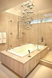 modern bathroom chandeliers gorgeous modern bathroom chandeliers with bathrooms cool bathroom with modern bathtub under metallic