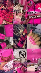 hot #pink #collage #nails #slides #VS ...