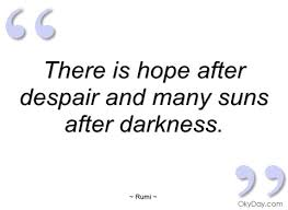 Despair Quotes Magnificent Quotes About Hope Despair 48 Quotes