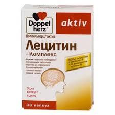 Доппельгерц <b>актив Лецитин</b>-<b>Комплекс</b>, капсулы, <b>30</b> шт., Queisser ...