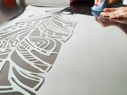 large wall stencils decorative