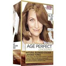 L Oreal Excellence Age Perfect Colour Chart Details About Loreal Excellence Age Perfect 6 35 Light Warm Auburn
