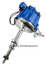 ford distributor sbf ford small block 260 289 302 hei ignition blue cap distributor 65k coil
