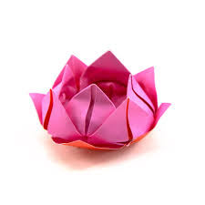 How To Make Big Lotus Flower From Paper How To Make An Origami Lotus Flower Origami Guide