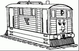 Small Picture extraordinary thomas the tank engine coloring pages with thomas