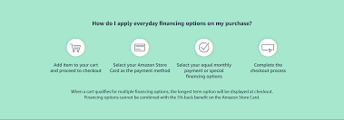 We did not find results for: Amazon Com Promotional Financing With The Amazon Store Card Credit Payment Cards