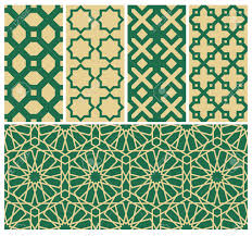 Pattern Background Vector Beauteous The Set Of Islamic Background Vector Seamless Arabian Pattern