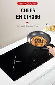 Mẫu bếp từ nhập khẩu Đức nào rẻ nhất của hãng Chefs ?