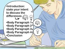 the best way to write a compare and contrast essay wikihow image titled write a compare and contrast essay step 11