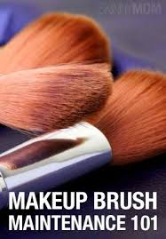 how to clean makeup brushes with olive oil vinegar shoo