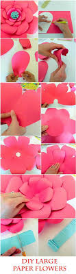 Diy Giant Paper Rose Flower Large Paper Flower Tutorial Magdalene Project Org
