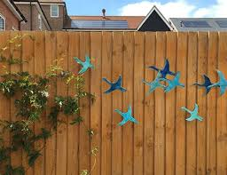 9 flying birds outdoor wall art made from ceramic that pop out on outdoor wall art ceramic with 25 best ideas about outdoor wall art on pinterest patio outdooe