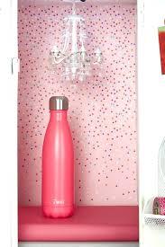 pink locker chandelier frosted chandeliers light mini crystal