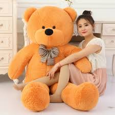 5 feet Orange Giant Teddy Bear to Cebu || Delivery