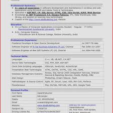 Resume Sample Software Engineer Lovely Resume Template For ...