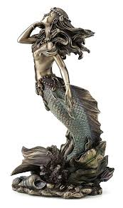 mermaid statue for in uk 58 used