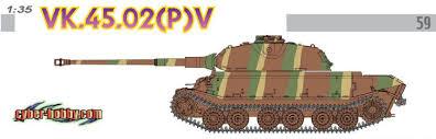 Немецкий тяжелый танк VK.45.02(P) V (<b>Cyber</b> Hobby Exclusive ...