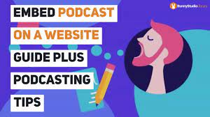 Embed Podcast on a Website Guide Plus Podcasting Tips - Bunny Studio