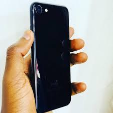 IPhone 7 jet black 32gb @1.3m - Princekakx Gadgets ug