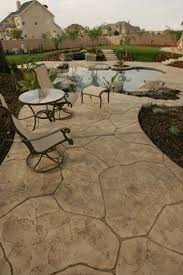 Backyard Concrete Designs Interesting 48 Best Yard Images On Pinterest Backyard Patio Decks And Garden Deco