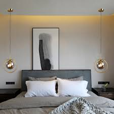 <b>LukLoy</b> Loft Modern Hanging Ceiling Lamp Bedside Pendant Light ...