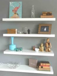 Living Room Shelves Decorating Ideas Great Decorating With Adjustable Wall Shelves Inspiring