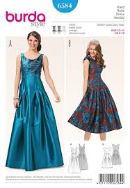 Prom Dress Sewing Patterns Impressive BURDA DRESSMAKING SEWING PATTERN MISSES EVENING PROM DRESS SIZE 48