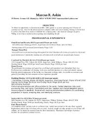 Resumes That Stand Out Simple Marcus Askin 44 Resume