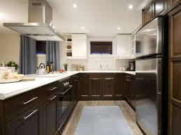 Tiny L Shaped Kitchen Kitchen Islands Contemporary Kitchen Installed On Hardwood