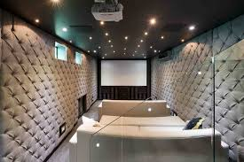 Theatre Rooms In Homes This Smaller Narrow Space For A Home Theater Room Worked Out