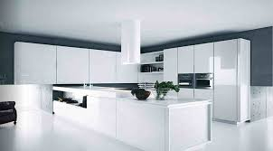 cabinets creative appealing high gloss white kitchen cabinet room modern shaped lime green finish black doors