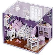 Amazon Cuteroom Dollhouse Miniature DIY House Kit Cute Room
