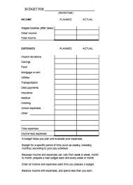 Church Budget Template Excel Church Budget Template 30 Templates Useful For Small And