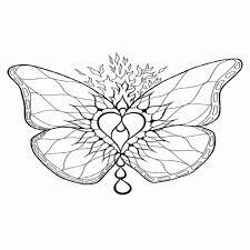 Kleurplaat Vlinder Met Bloemen Kleurplaat Vor Kinderen 2019
