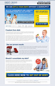 sale page template highly optimized 20 best debt landing page design templates