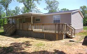 mobile home porch and deck combo