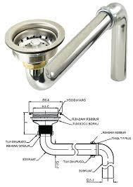sink drain parts kitchen sink p trap replace kitchen sink bathroom sink drain sink drain for
