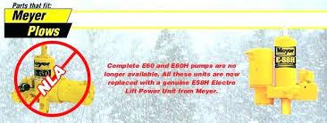 meyer e60 troubleshooting snow plow pump power wire harness w dual meyer