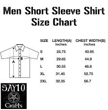 Men S Shirt Sizes Chart Gothic Satanic Short Sleeve Men Shirt Baphomet Occult Pentagram Gothic