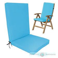 Highback Garden Dining Chair Cushion Pad Outdoor Furniture High