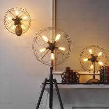 creative lighting ideas. American Style Floor Lamp Fan Light Nordic Brief Vintage Edison Bulb Antique Retro Lighting Fixture Creative Ideas C