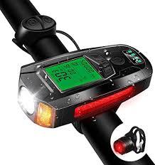 Bike Light Set with Bike Speedometer, Bicycle ... - Amazon.com