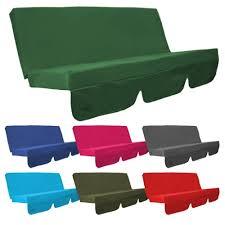Water Resistant Swing Seat Bench Cushion for Garden Hammock in