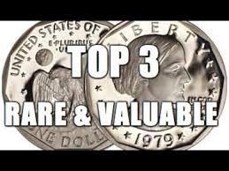 Sacagawea Gold Dollar Value Chart Top 3 Rare Valuable Susan B Anthony Dollar Coins Worth Big Money