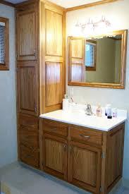 bathroom floor cabinets tall
