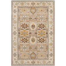 safavieh heritage light grey grey 6 ft x 9 ft area rug