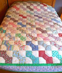 64 best bow tie quilts images on Pinterest | Bow ties, Bows and ... & Vintage 1930's Feed-Sacks Hand Quilted & Bound Bow-Tie Patterned Quilt Adamdwight.com