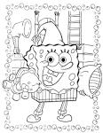 Раскраски и игры для девочек спанч боб