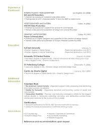 Graphic Design Resume Examples Experience Certificate Format Interior Designer Fresh Graphic 60